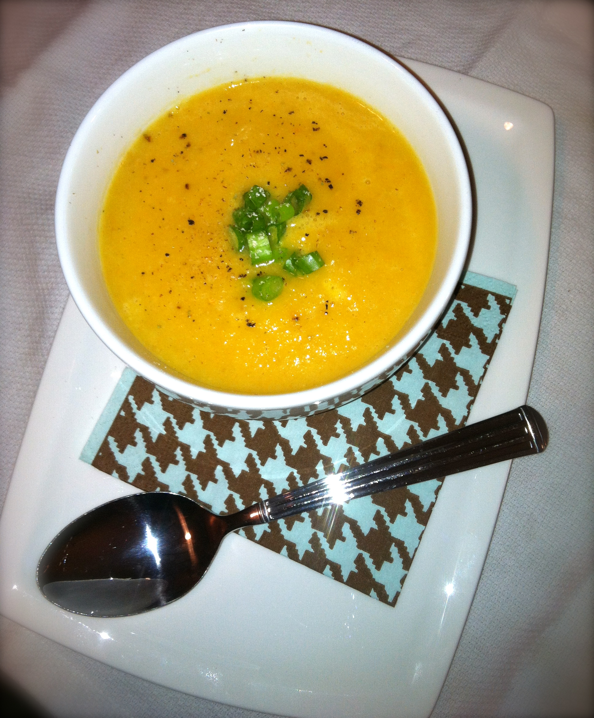 Roasted Parsnip & Carrot Soup